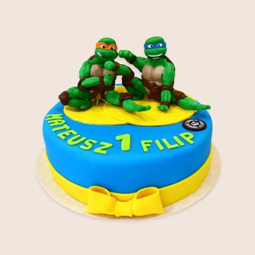 waleczne żółwie